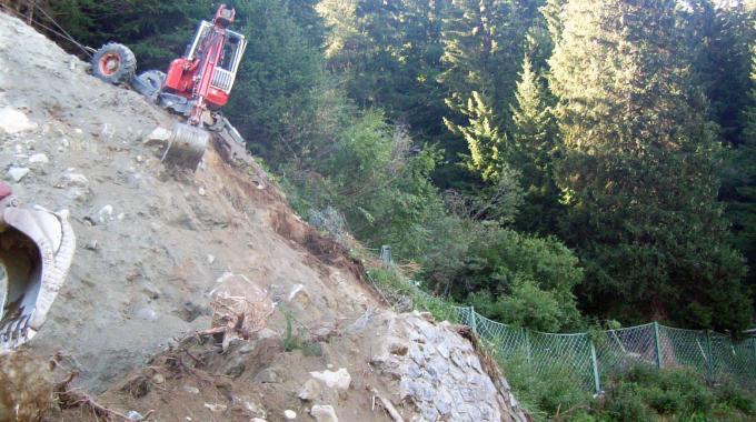 Consolidamento pareti rocciose