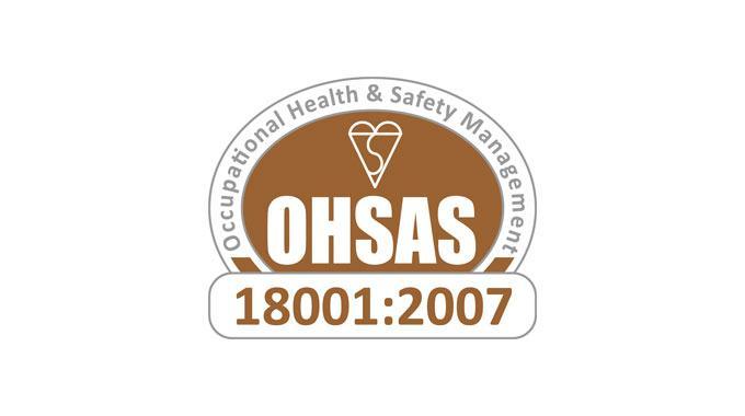 Certificato OHSAS 18001:2007